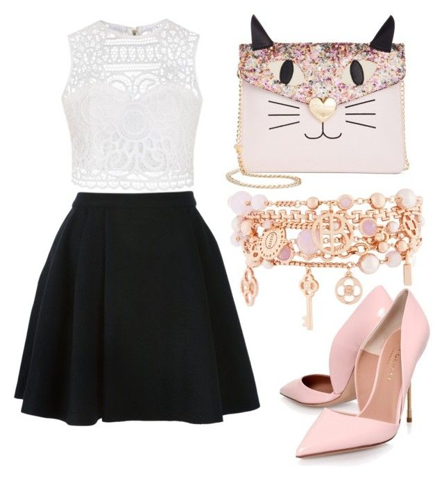 """""""#1O5"""" by annaluvsbtr1d on Polyvore featuring Betsey Johnson, Avelon, Kurt Geiger, Ally Fashion and Henri Bendel"""