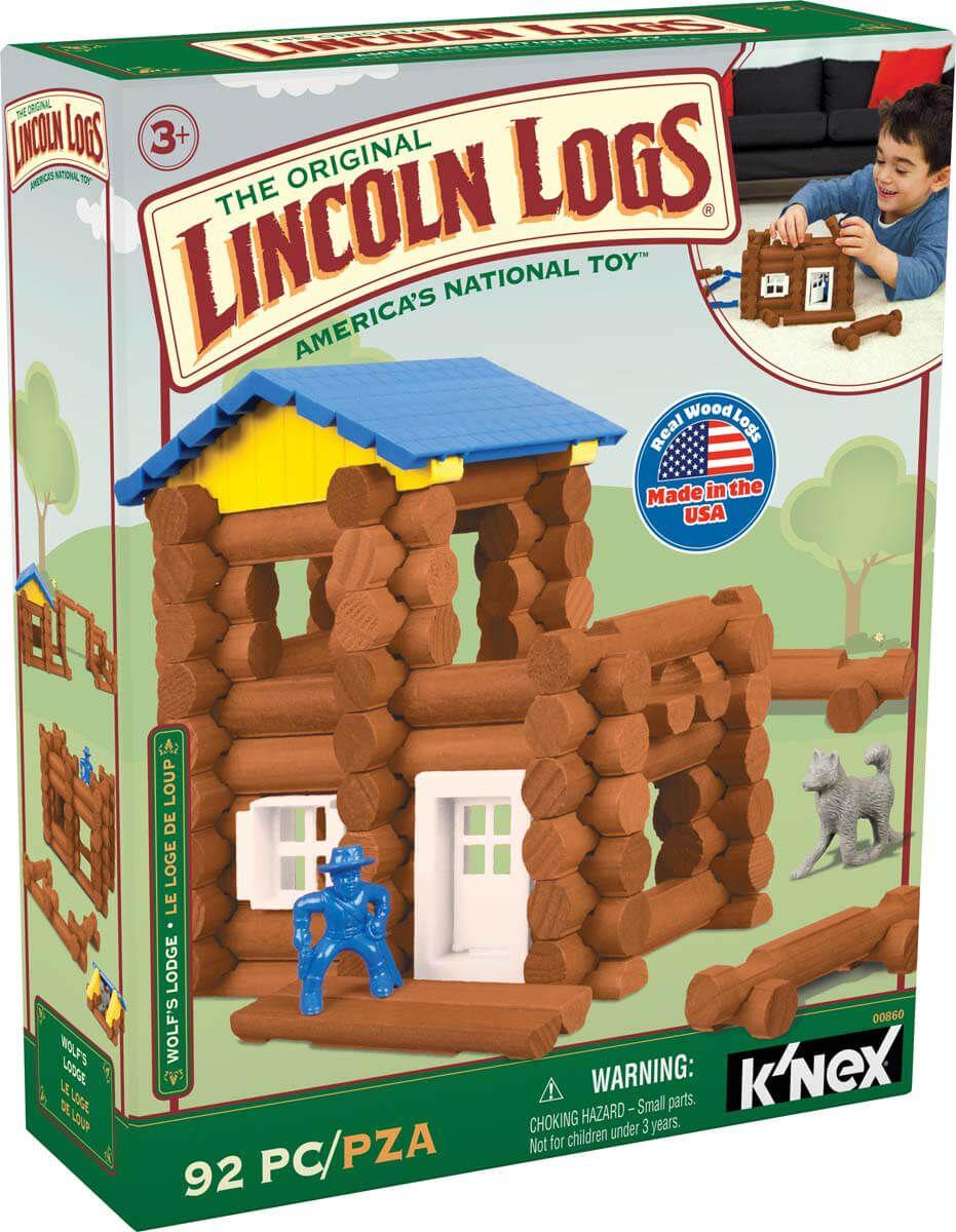 Wolf's Lodge Lincoln logs, Log home interiors, Log home