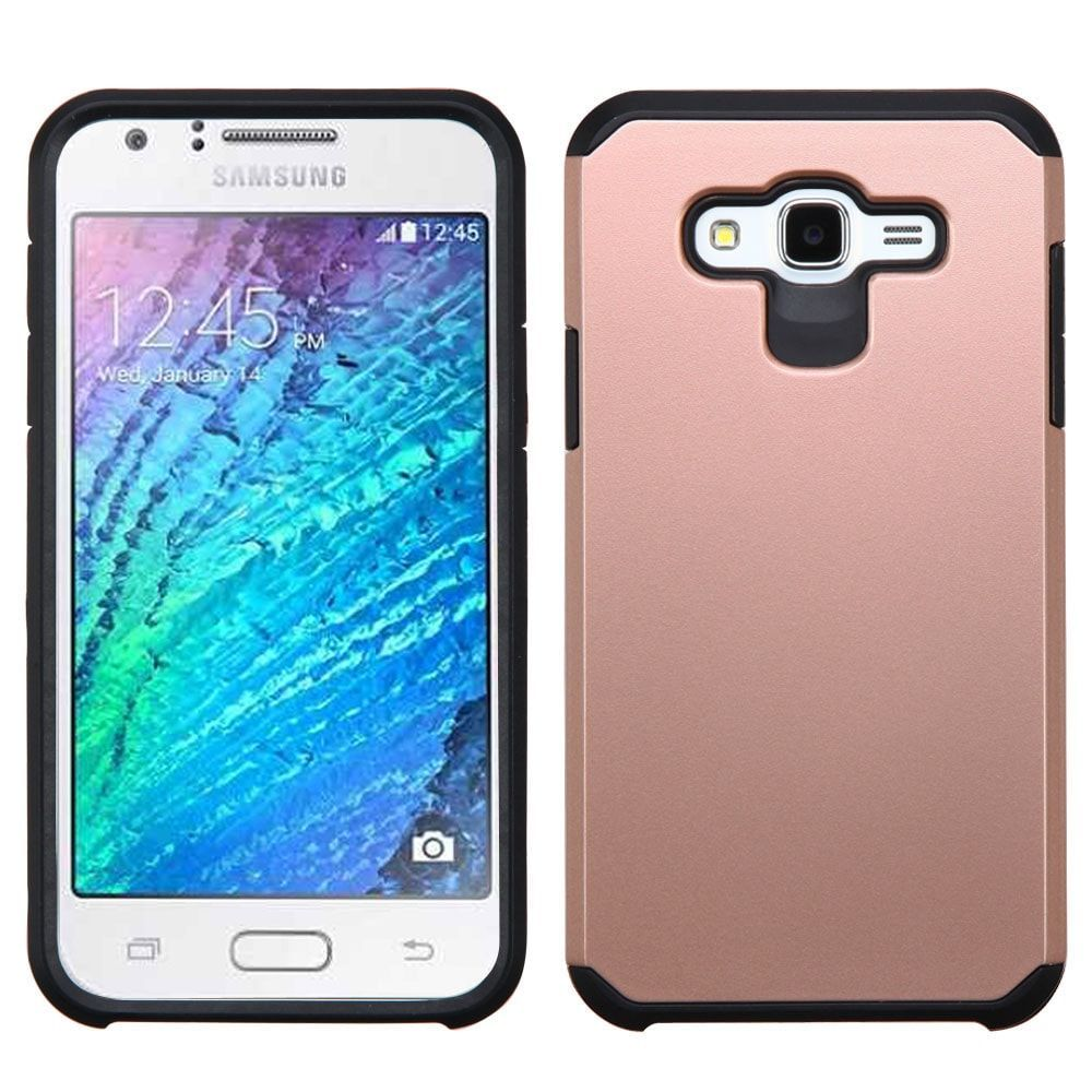MYBAT Neo Astronoot Samsung Galaxy J7 Case - Rose Gold/Black