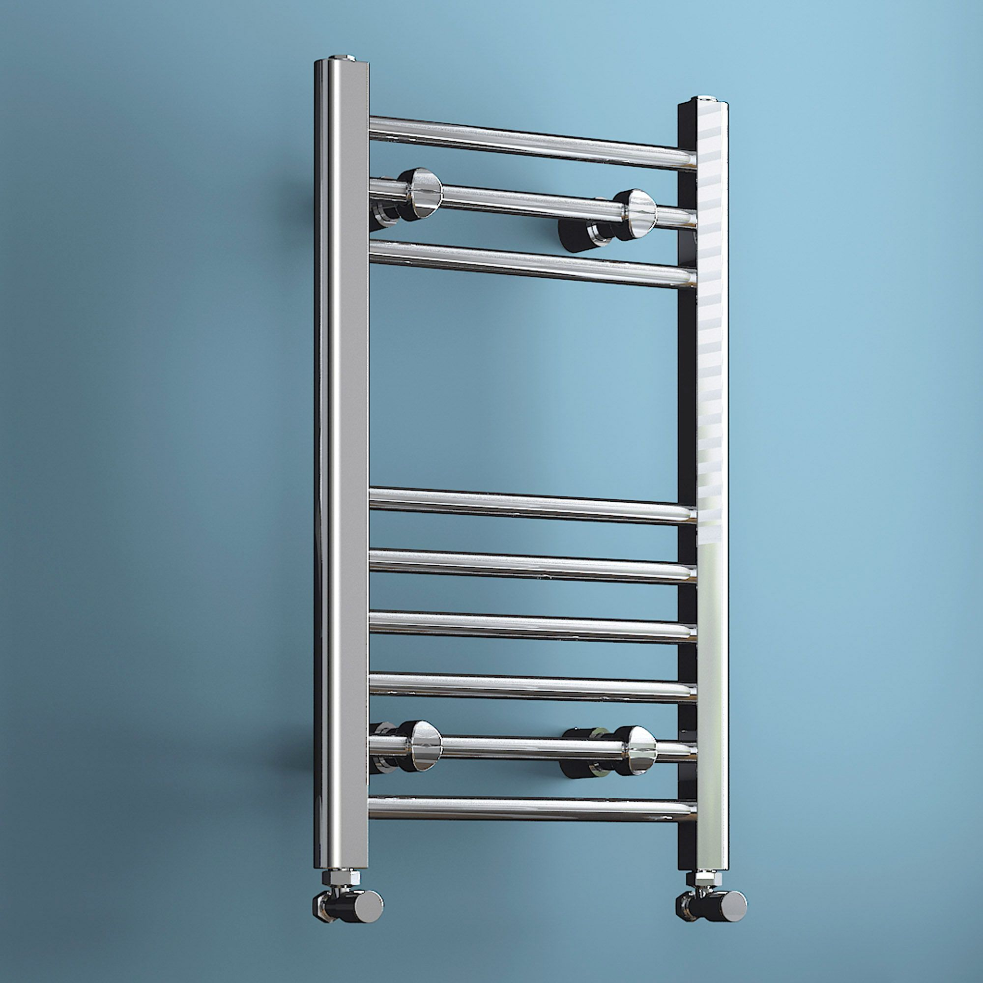 Natasha ladder rail straight modern electric towel radiator in chrome - Are You Looking For The Bathroom Of Your Dreams Stunning At Low Prices With