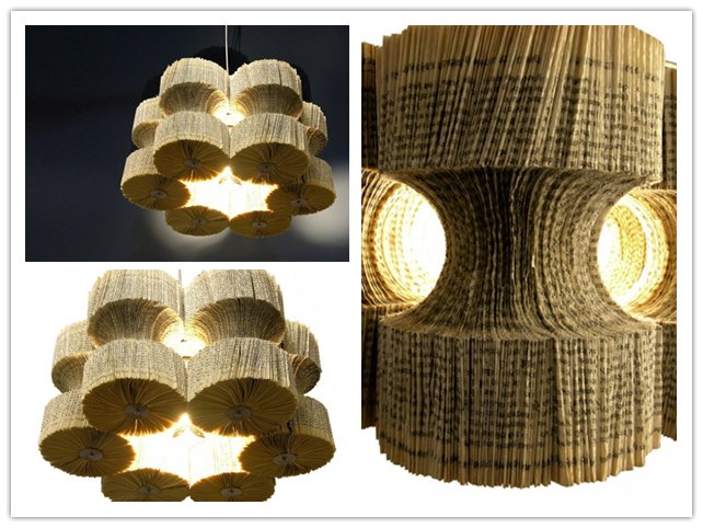 How To Make Brilliant Recycled Book Chandelier Step By Diy Tutorial Instructions