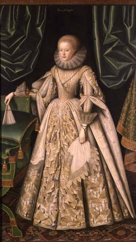 Anne Cecil-later Countess of Oxford- daughter of William Cecil, Baron Burghley, first wife of Edward De Vere, Earl of Oxford.