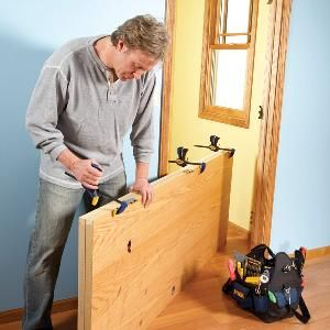 How To Hang A New Door Prehung Doors Diy Home