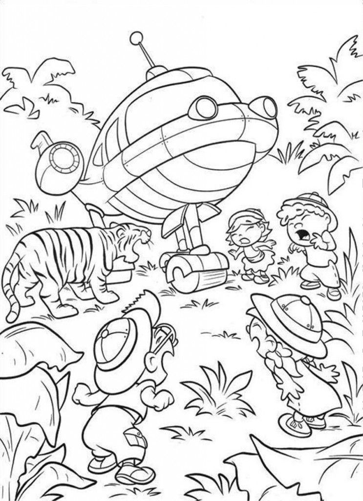 Cartoon: Little Einsteins Coloring Pages To Print Picture