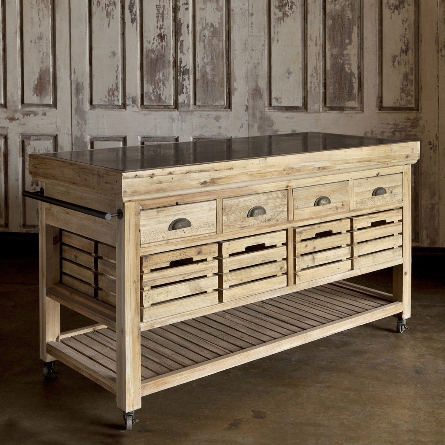 Marble Top Rolling Kitchen Island Rolling Kitchen Island Portable Kitchen Island Industrial Kitchen Island