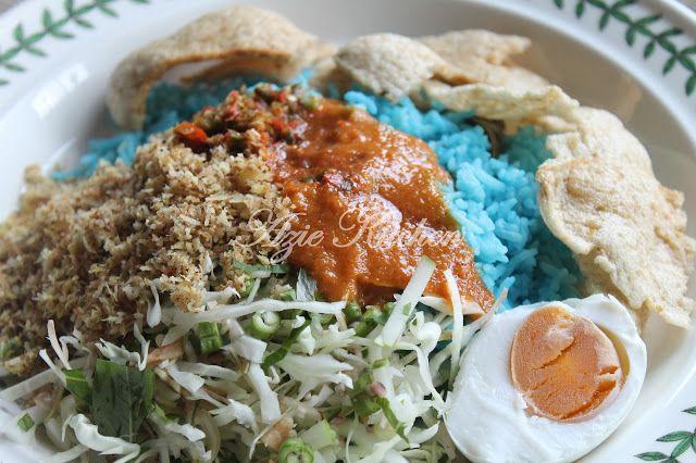 Azie Kitchen Nasi Kerabu Kelantan Makanan Resep Masakan Indonesia Resep Nasi
