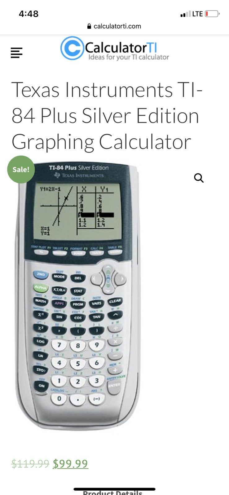 Hardly used this is a life saver for higher level math