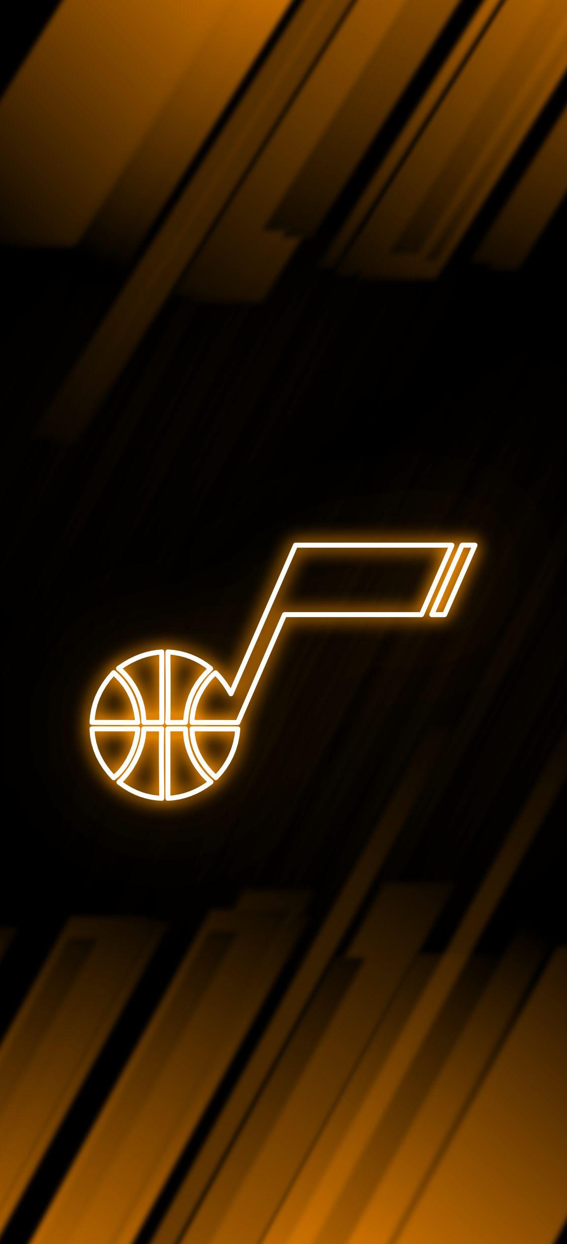 Utah Jazz Neon Wallpaper Utah Jazz Utah Jazz