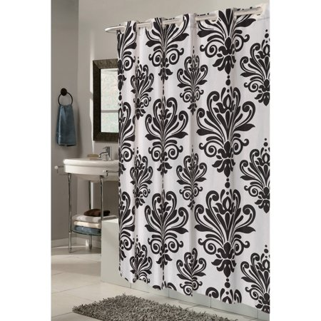 Home Fabric Shower Curtains Black Shower Curtains Curtains