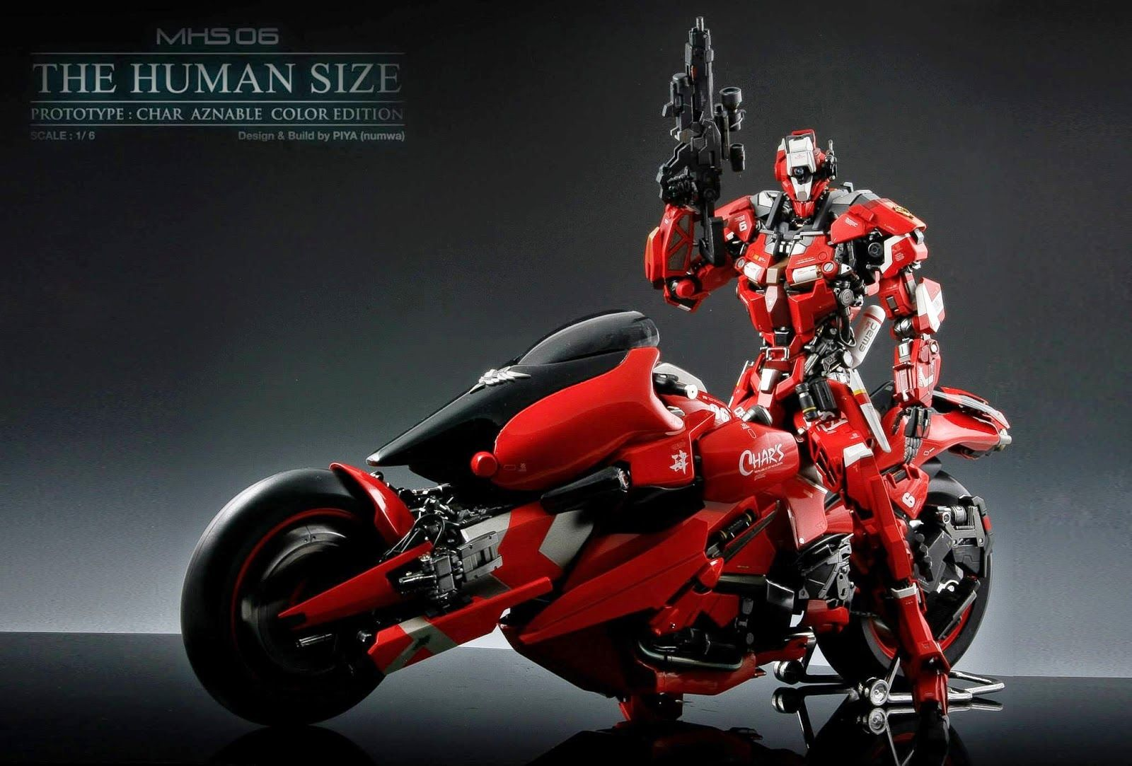 Gundam Guy 1 6 Scale Msh 06 The Humansize Custom Build Custom Build Robots Concept Dragon Ball Super Wallpapers