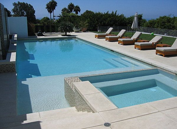 Cool And Fabulous Pool Terrace Design Ideas Concrete Pool