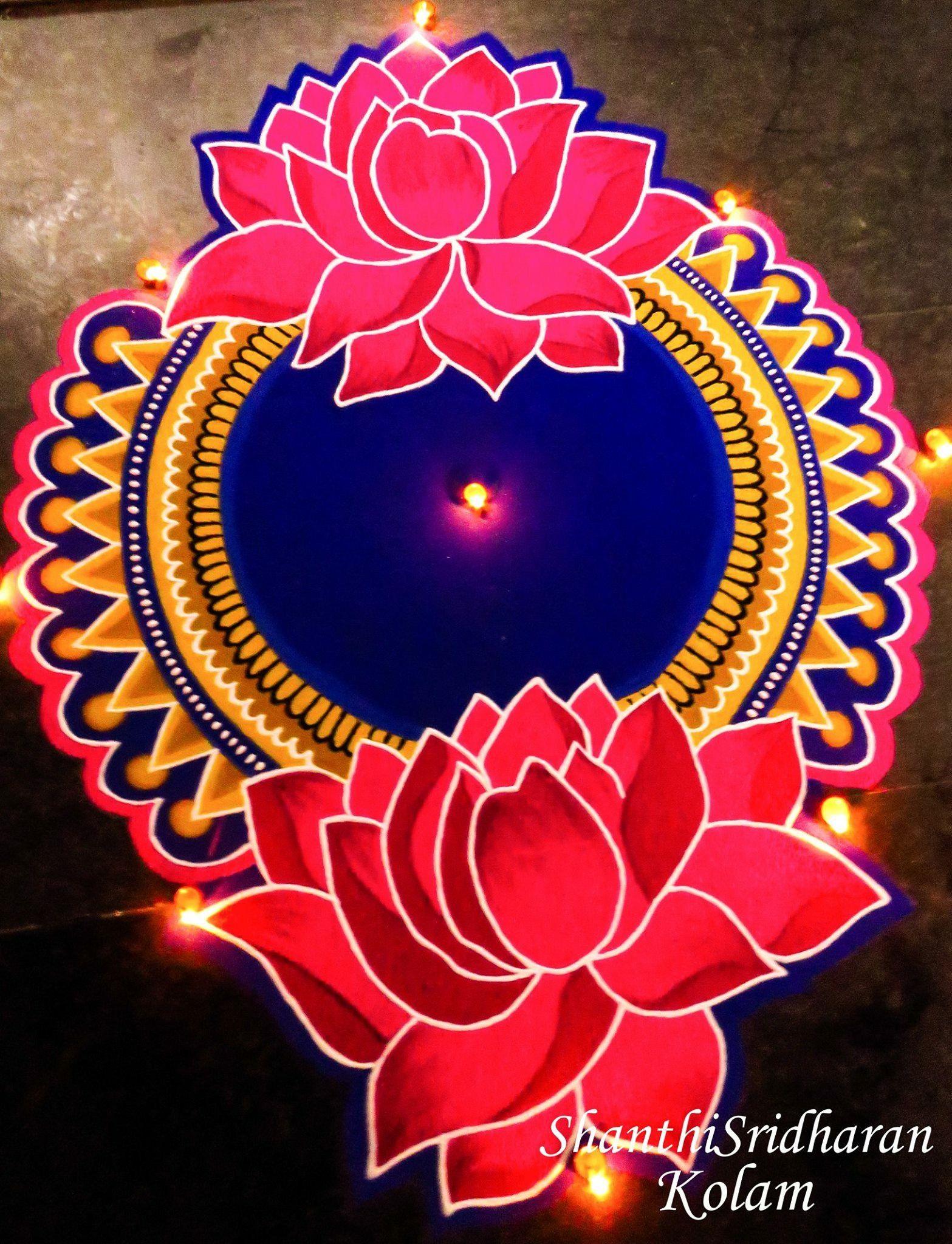 Pin By Aaron Rajput On Rang Rangoli Designs Diwali Rangoli