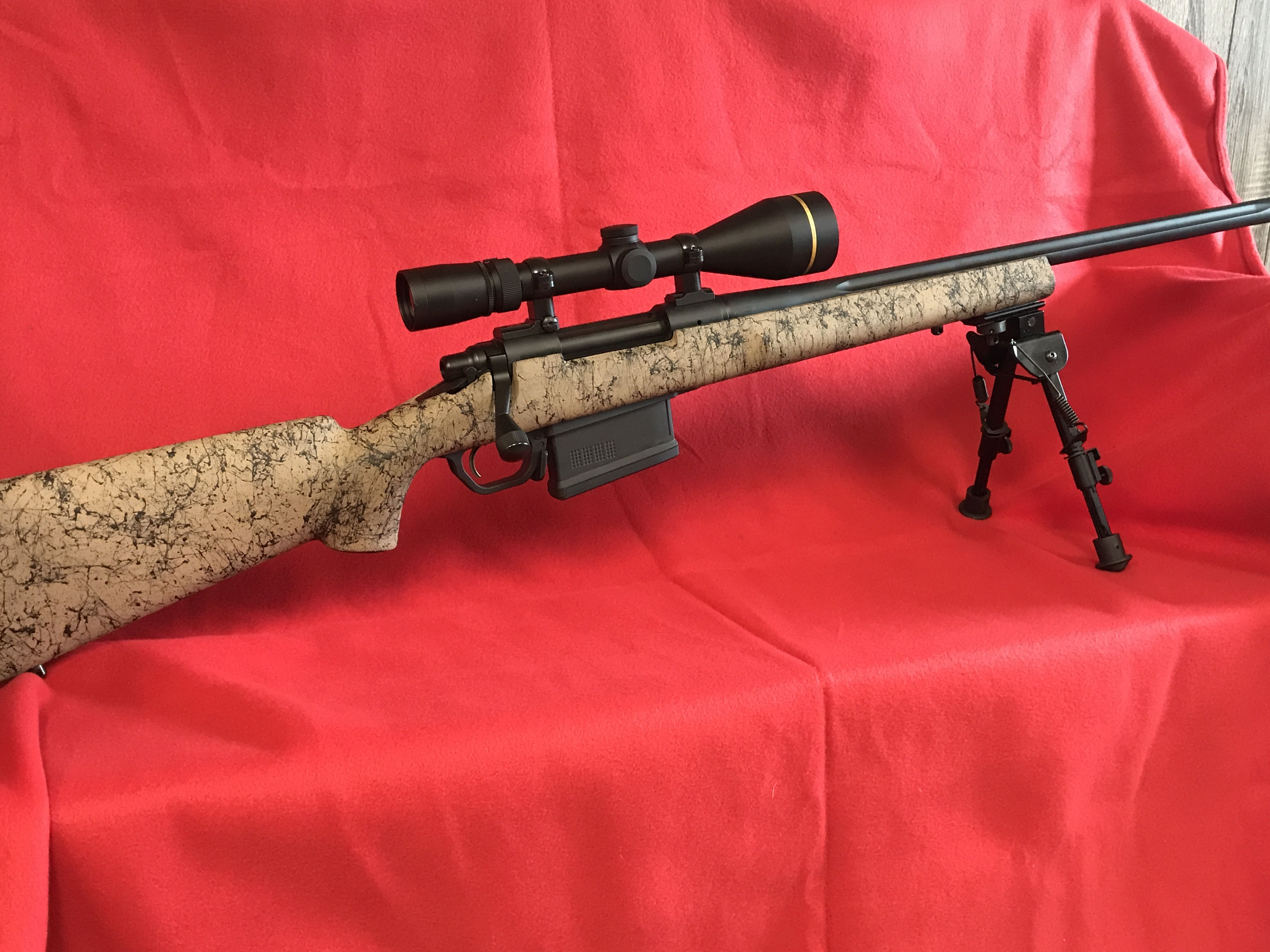 Custom built Remington 700 in  300 Win Mag with Leupold VX-3i Glass
