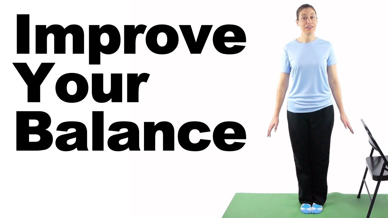 Balance exercises can help improve your balance and can