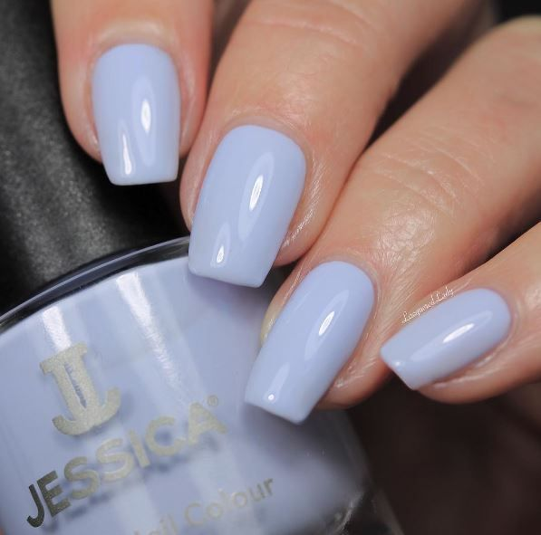 Swatch of Periwinkle Bliss by @Lacquered Lady. from our Summer Collection Polished in Pastels.