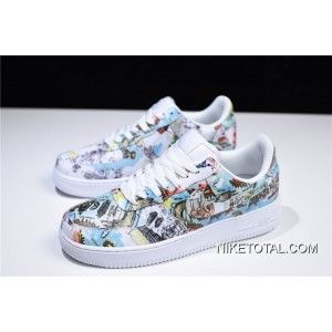 "more photos 359e4 a9b8d Men s Nike Air Force 1 Low ""Wings"" Multi-Color Free Shipping Discount"