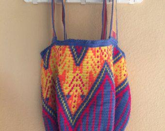 Wayuu Mochilas por Kgalleryfashionart en Etsy