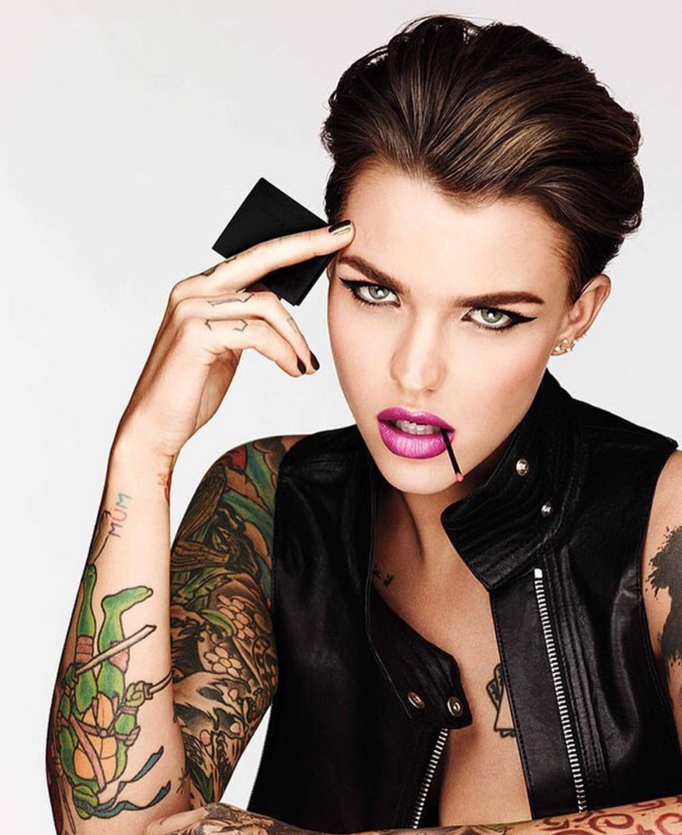 Ruby Rose for Urban Decay (With images) Ruby rose
