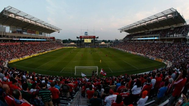 Toyota Park, Bridgeview, IL   Chicago Fire 2006 Present Toyota Park Is A  Soccer Specific Stadium Located At 71st Street And Harlem Avenue In  Bridgeview, ...