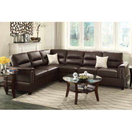 Tremendous Bobkona Parrish Bonded Leather Left Or Right Hand Reversible Short Links Chair Design For Home Short Linksinfo