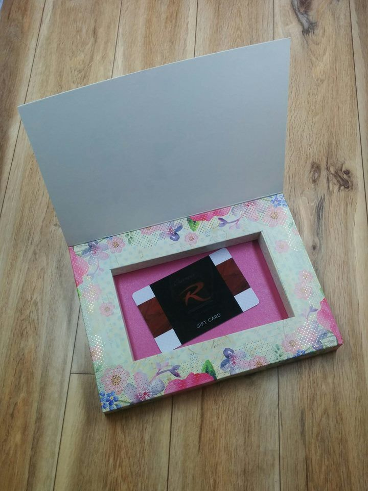 Turn your Frame card into the perfect gift card holder! Created by ...