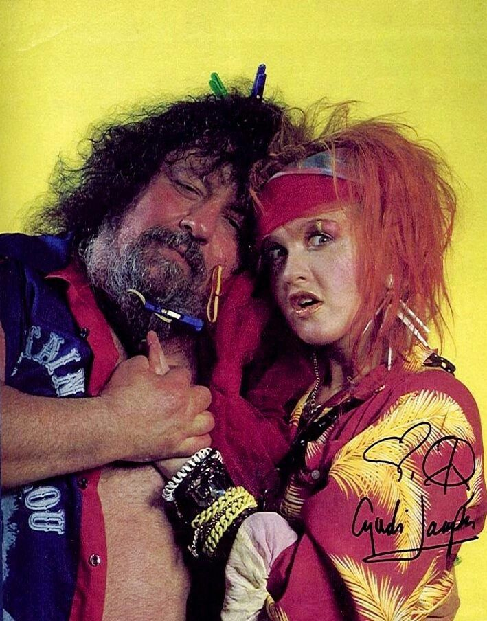 Image result for lou albano 80's