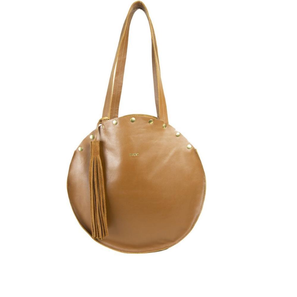 D Ou Vient Le Cuir sac sceaux ; sac rond; sac bohème ; sac cuir ; sac bourse