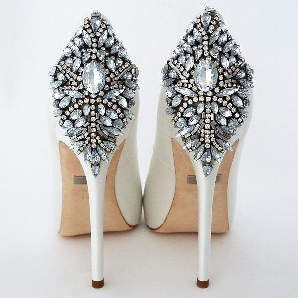 Badgley Mischka Kiara Wedding Shoes White Wedding Shoes Badgley Mischka Shoes Wedding Bridal Shoes