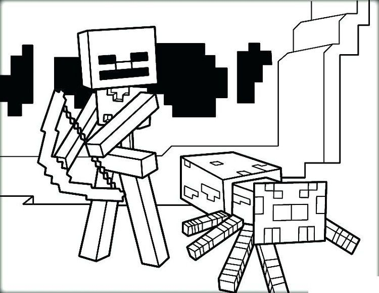 Minecraft Coloring Pages Mutant Creeper Concept