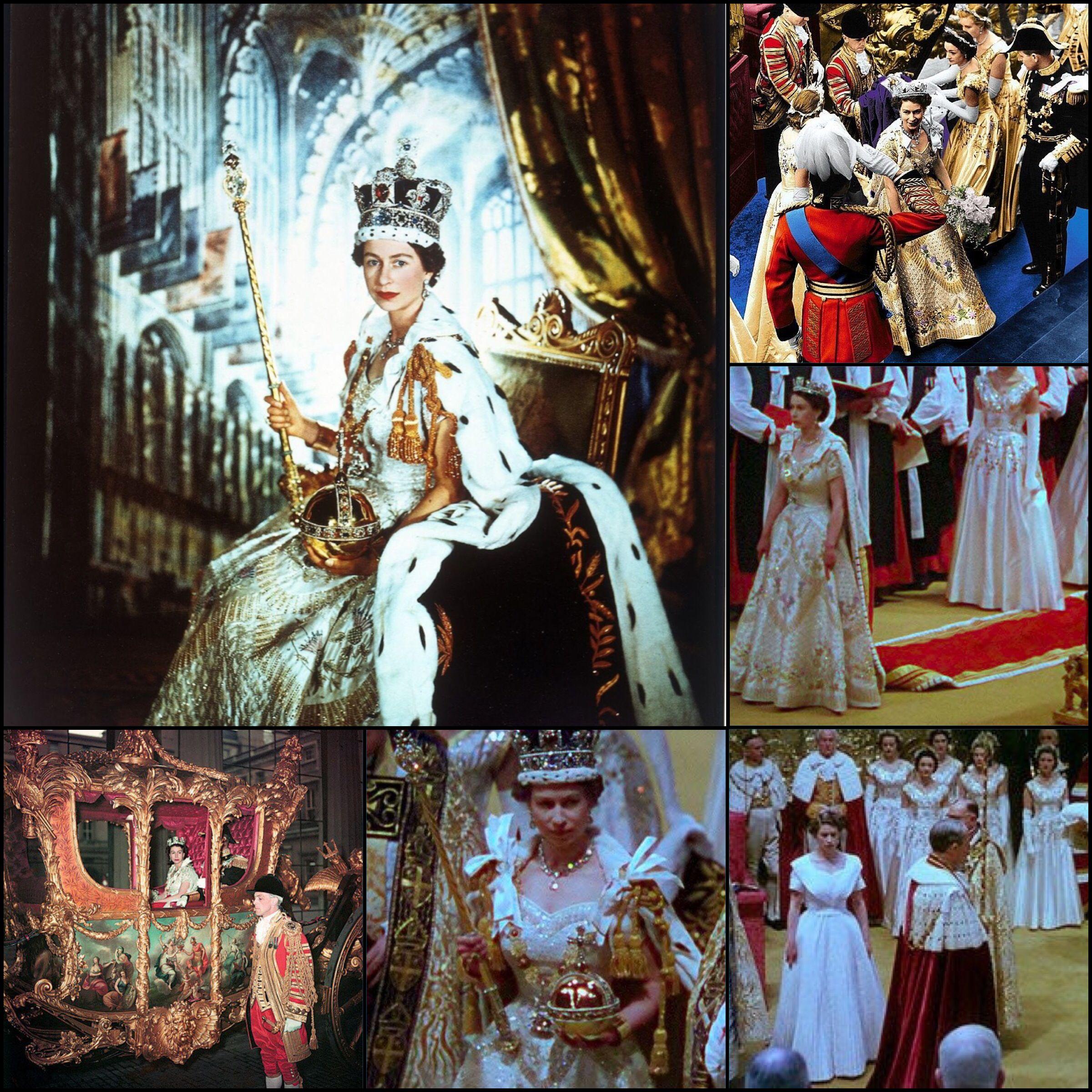 June 2, 1953 The coronation of Queen Elizabeth II as