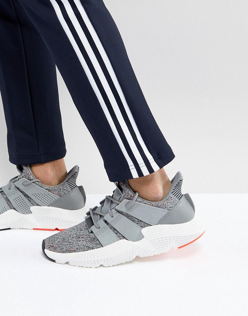 competitive price bb896 ef65b ADIDAS ORIGINALS PROPHERE SNEAKERS IN GRAY CQ3023 - WHITE.  adidasoriginals   shoes