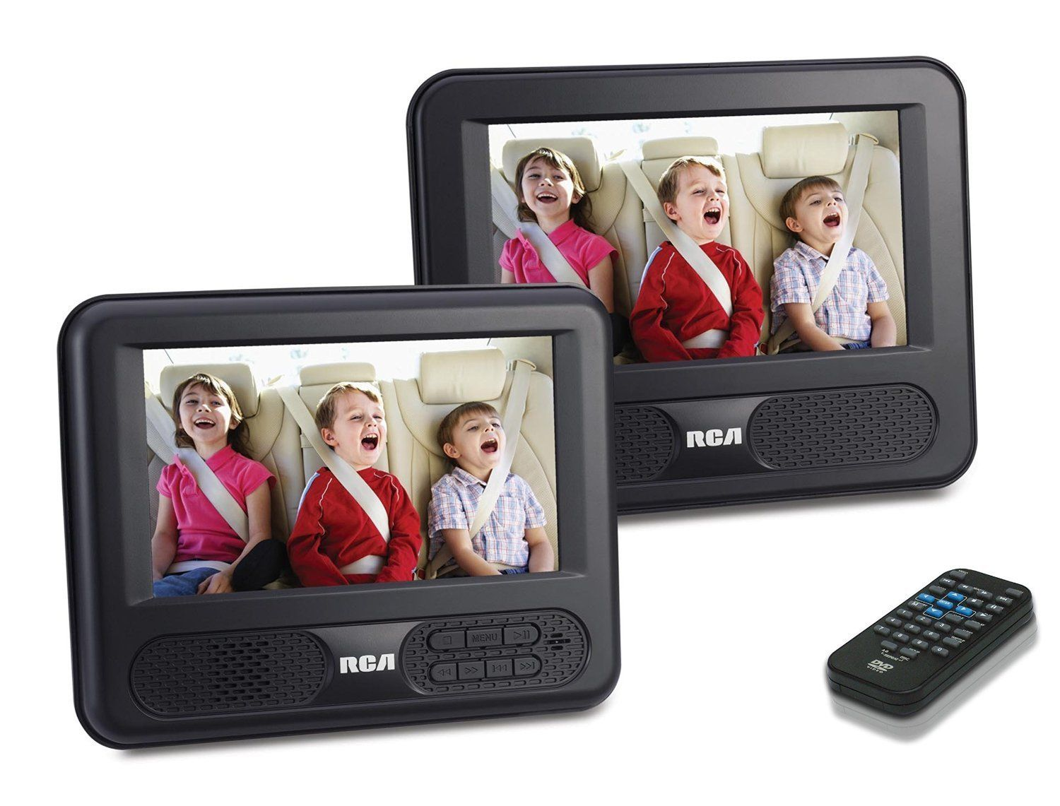 Rca Drc Dual 7 Inch Screen Mobile Dvd System