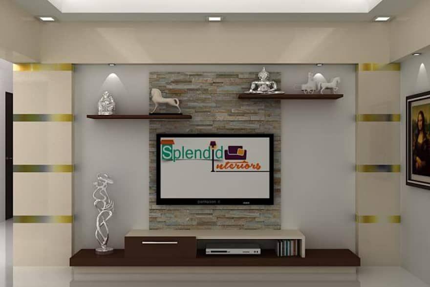 Tv Units By Splendid Interior Designers Pvt Ltd Designers