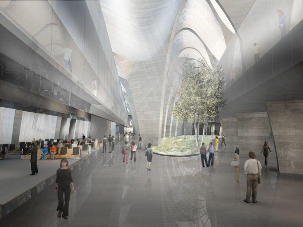 New Design For The Zagreb International Airport Croatia Zagreb International Airport Design