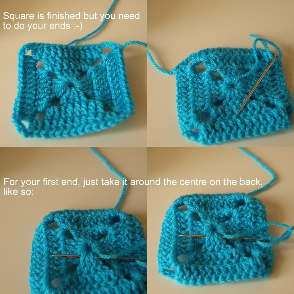 Solid Granny Squares Pattern (Elmer Squares) « Little Tin Bird ...