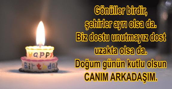 Arkadasa Dogum Gunu Mesajlari Dogum Gunu Mesajlari Rivayetname Birthday Candles Birthday Candles