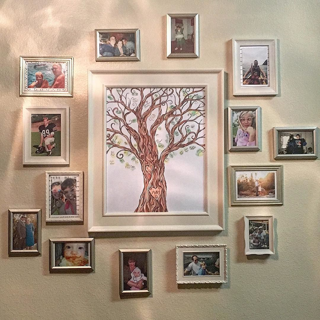 #redlands #homedesign #photonut #artdisplay the photos that I take of my family are the most dear to me. #vintageframes #dollarstore #projects by hayhaysmomma http://discoverdmci.com
