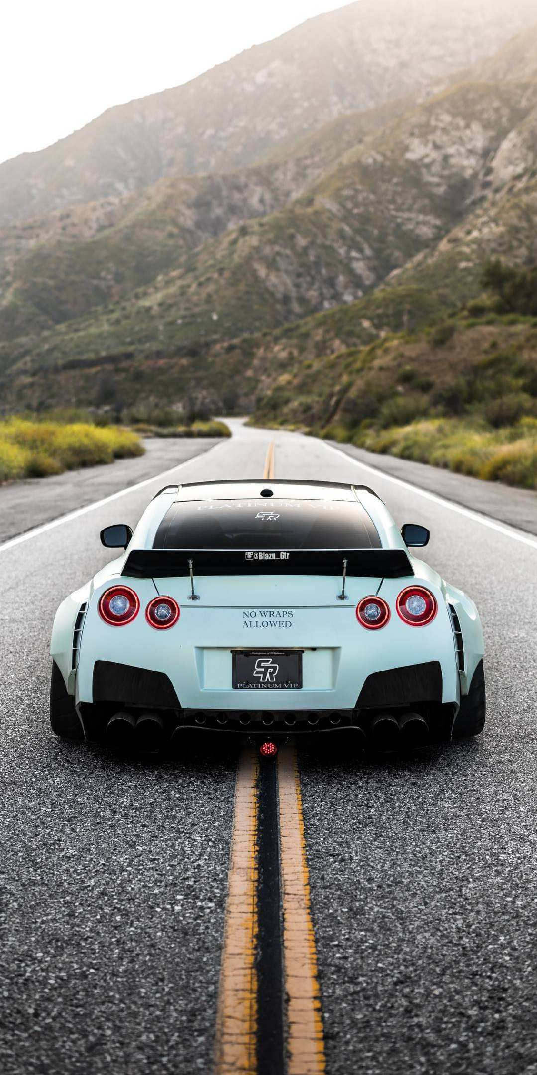 Nissan GTR R35 iPhone Wallpaper (With images) Nissan gtr