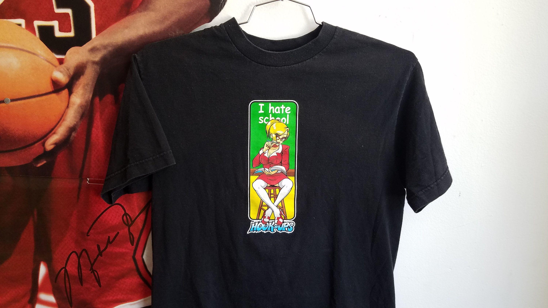 hookups skateboards shirt