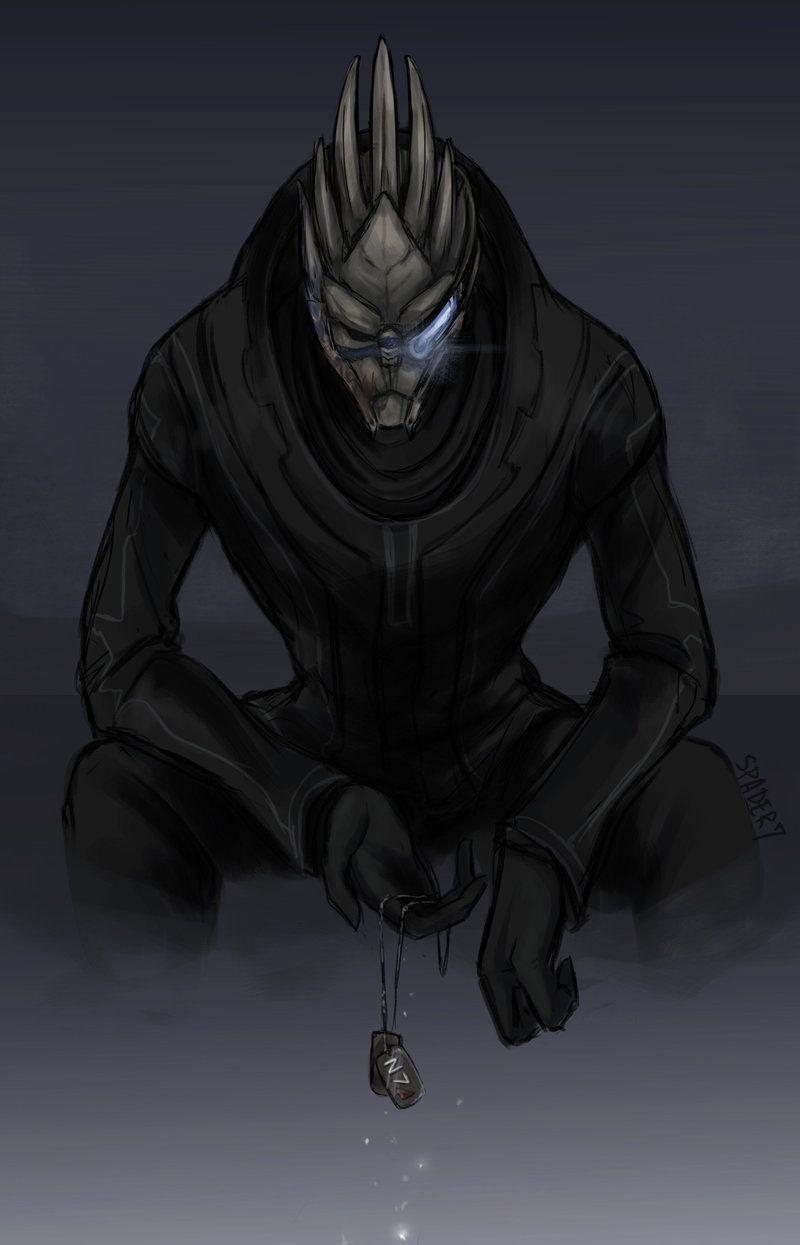 Mass Effect fan art featuring Garrus and Saren   Mass Effect Fan Art
