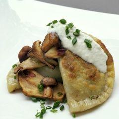 Michael Symon's beef cheek pierogi recipe