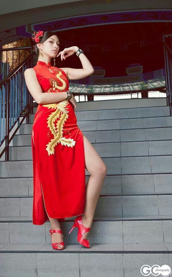 3a1f546dc Doa Cute Asian Girls, Asian Style, Chinese Style, Traditional Chinese,  Cheongsam,