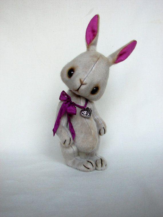 Toy sewing tutorial bunny toy pattern Teddy bear pattern Teddy toy ...