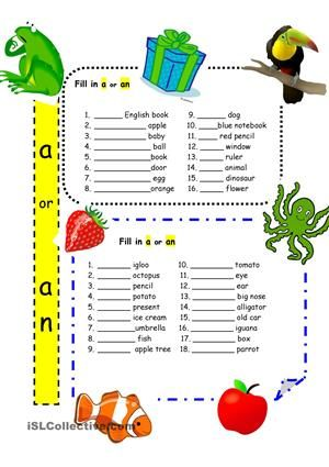 Articles A And An For Beginners Grammar Worksheets Grammar For Kids English Grammar Worksheets