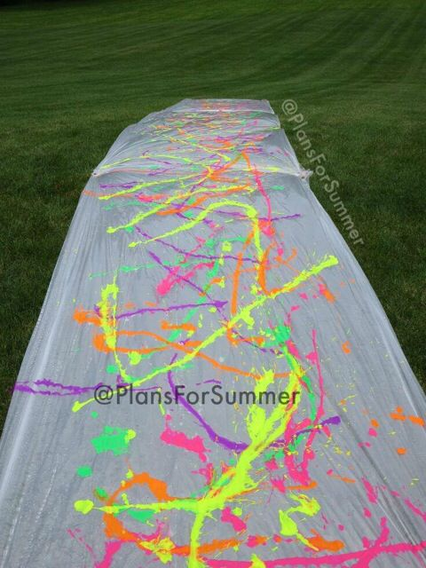 Paint Slip N Slide Birthday Party For Teens 14th Teen Games