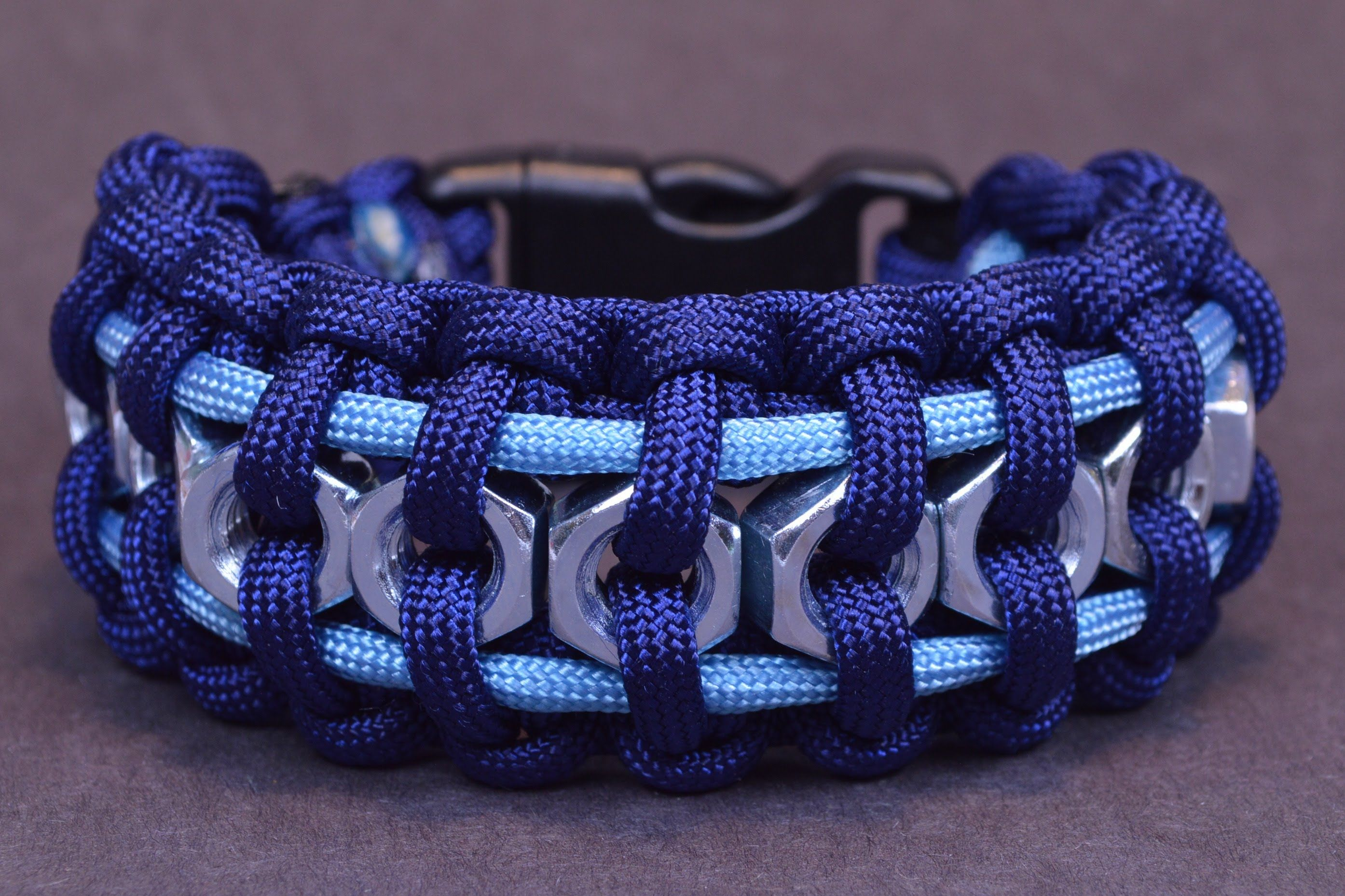 How To Make The Hex Nut Paracord Bracelet. There are many types of Paracord bracelets, and many different ways to make them. Here are two.