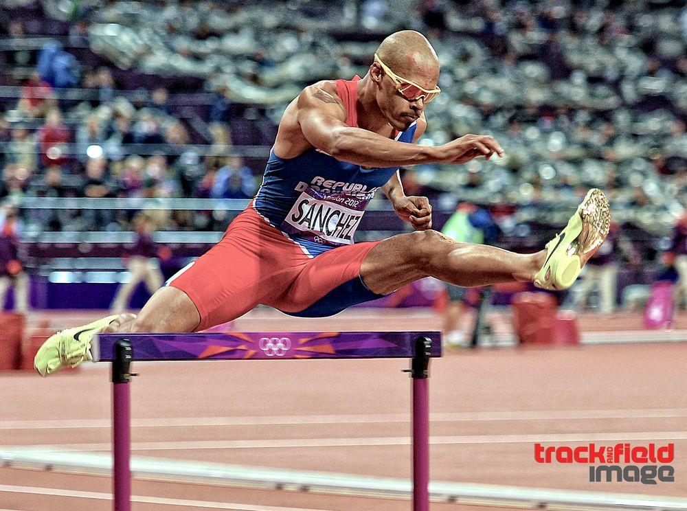 Felix Sanchez , London 2012 Olympic Games , 400m hurdles ...