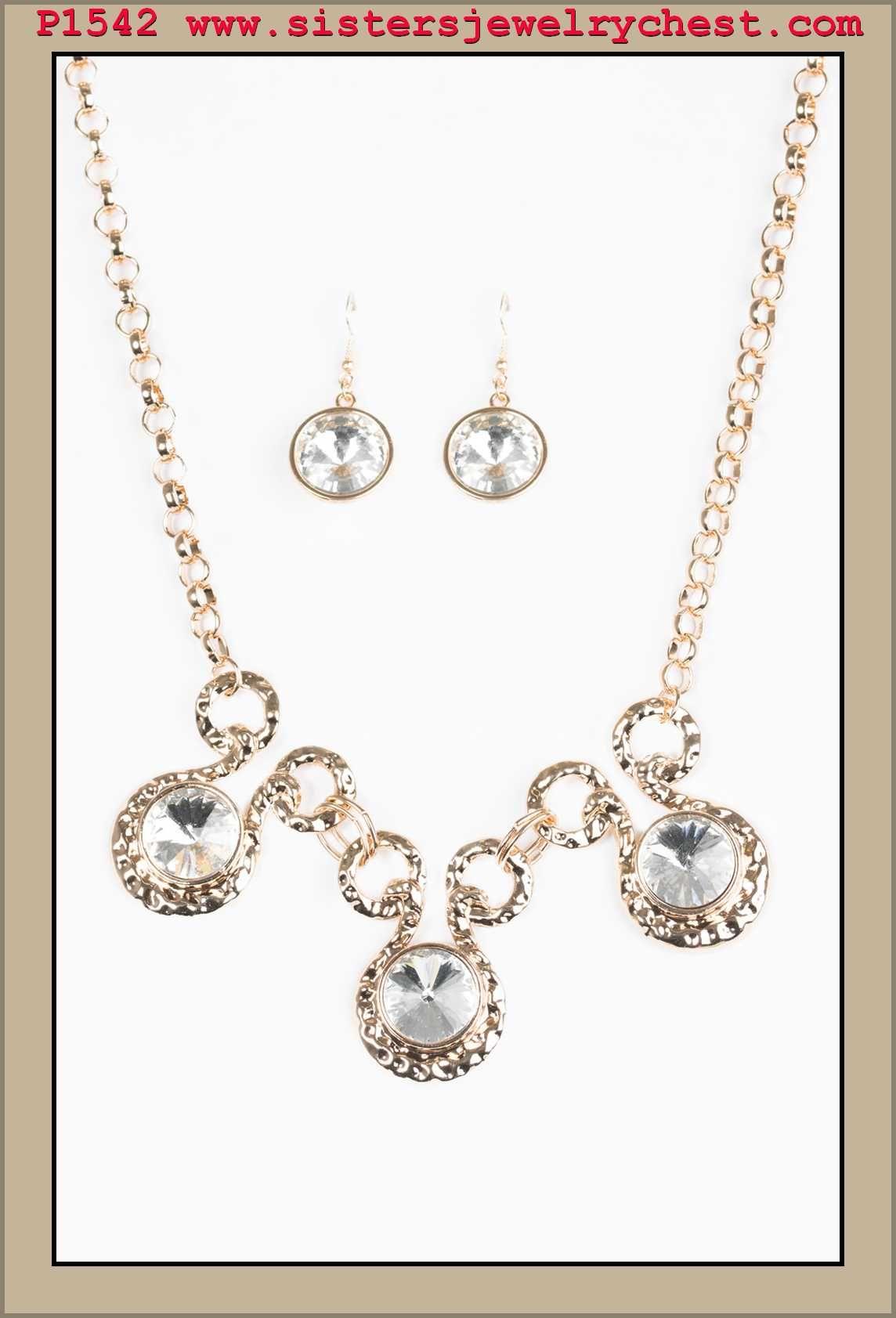 Hypnotized Gold Paparazzi Accessories Bridesmaid