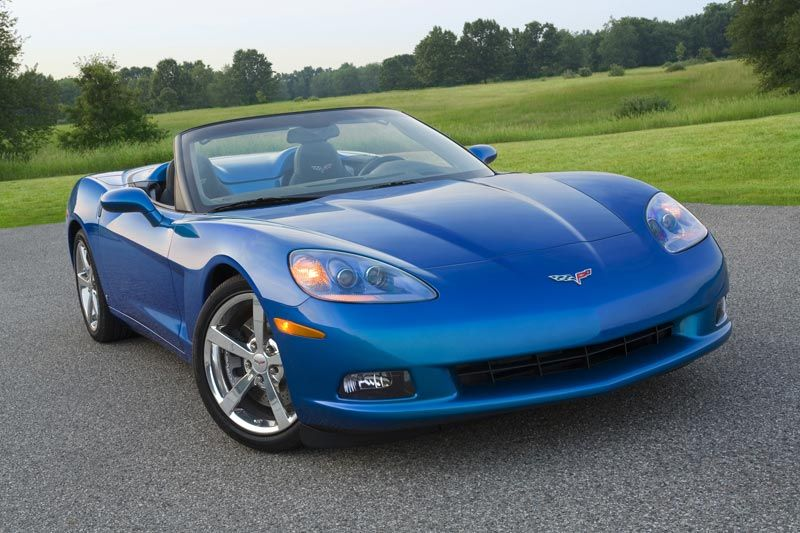 2008 Chevrolet Corvette In Jetstream Blue Upgrades In The Automatic