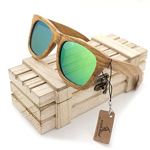In Wood Sunglasses S05 Wayfarer Bird Mens Bobo Beech JTlFcK13